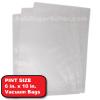 6 x 10 vacuum sealer bags (100)